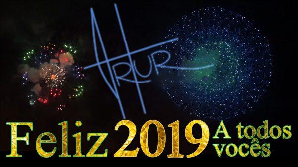 FELIZ ANO-NOVO! REVEILLON 2019